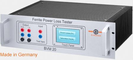 Standardisierte Messung der Verlustleistung weichmagnetischer Ferritkerne nach  IEC 62044-3