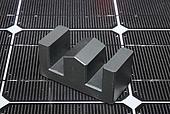 E-Kern mit Dachschliff