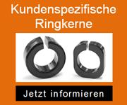 Kundenspezifische Ferritkerne von Blinzinger