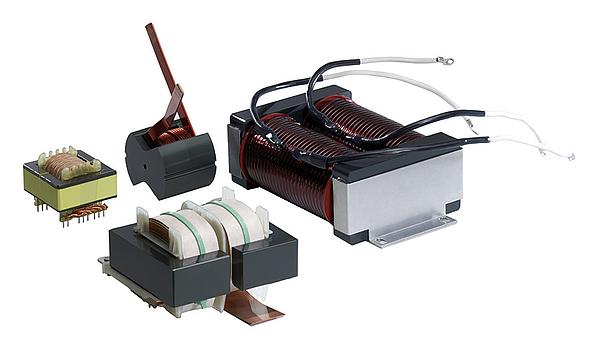 Transformatoren, Drosseln, Induktive Bauelemente, Übertrager, Spulen